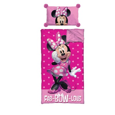 3c8cafcacec Mickey Mouse   Friends Minnie Mouse Zip 40 Degree Sleeping Bag   Pillow Set