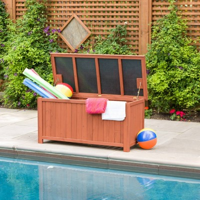 Deck Box - Brown - Leisure Season