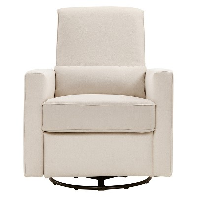 DaVinci Piper Recliner and Swivel Glider - Cream