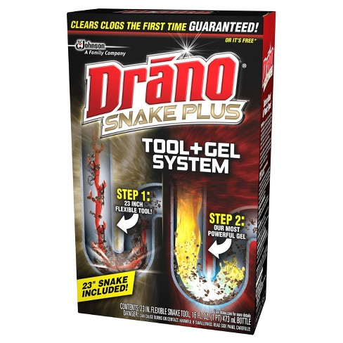 drano snake plus tool + gel system : target