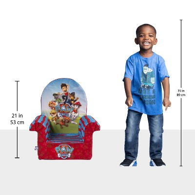 Marshmallow Furniture Comfy Foam Toddler Chair Kid's Furniture For Ages 2 Years Old And Up, Nickelodeon Paw Patrol : Target