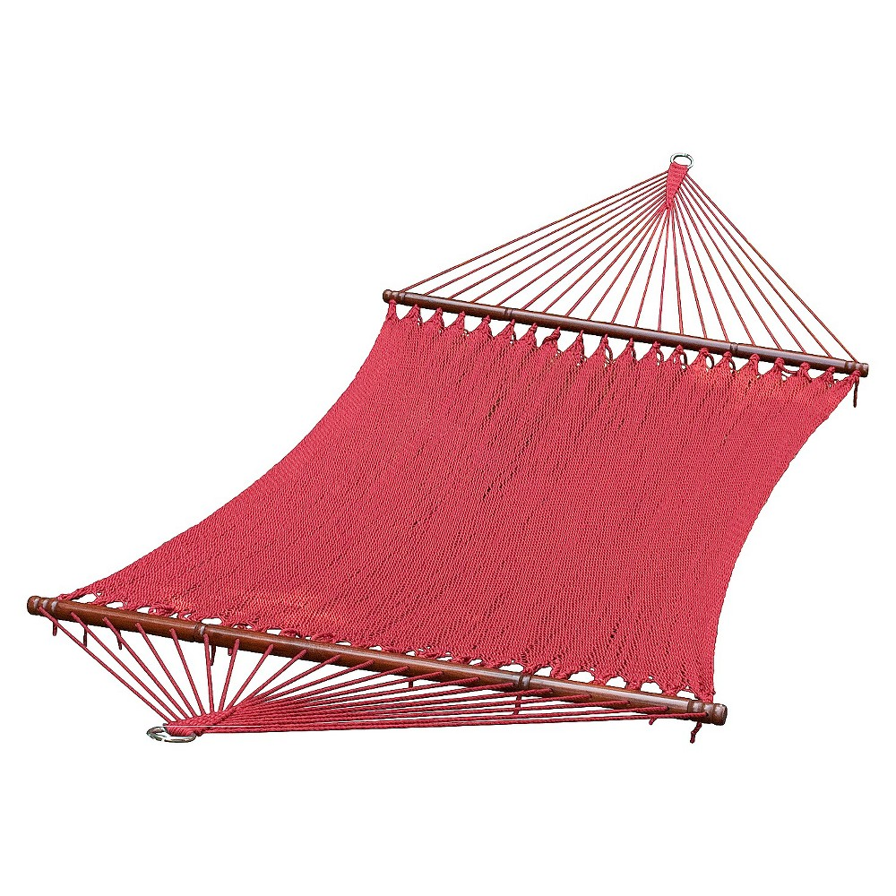 Image of 13 Foot Caribbean Hammock - Burgundy, Royal Burgundy
