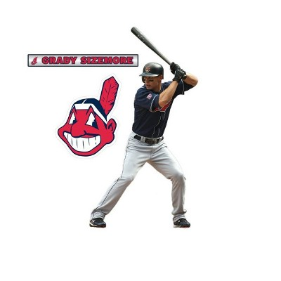 Grady Sizemore Fathead Jr MLB Baseball Player Wall Accent Sticker - Cleveland Indians..