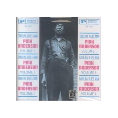 Pink Anderson - Carolina Blues Man Volume 1 (CD) - image 1 of 1