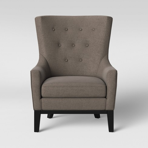 Lewiston Wingback Arm Chair - Threshold™ - image 1 of 5