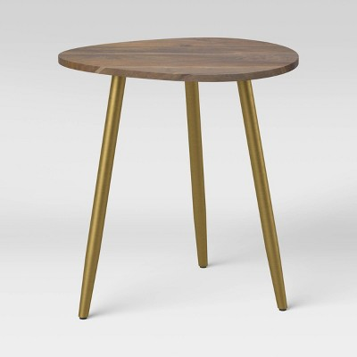 Mid-Century Wood End Table Brown - Project 62™