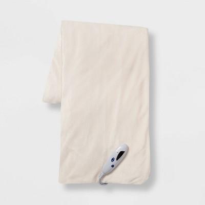 "50""x60"" Electric Microplush Reversible Throw Blanket - Threshold™"