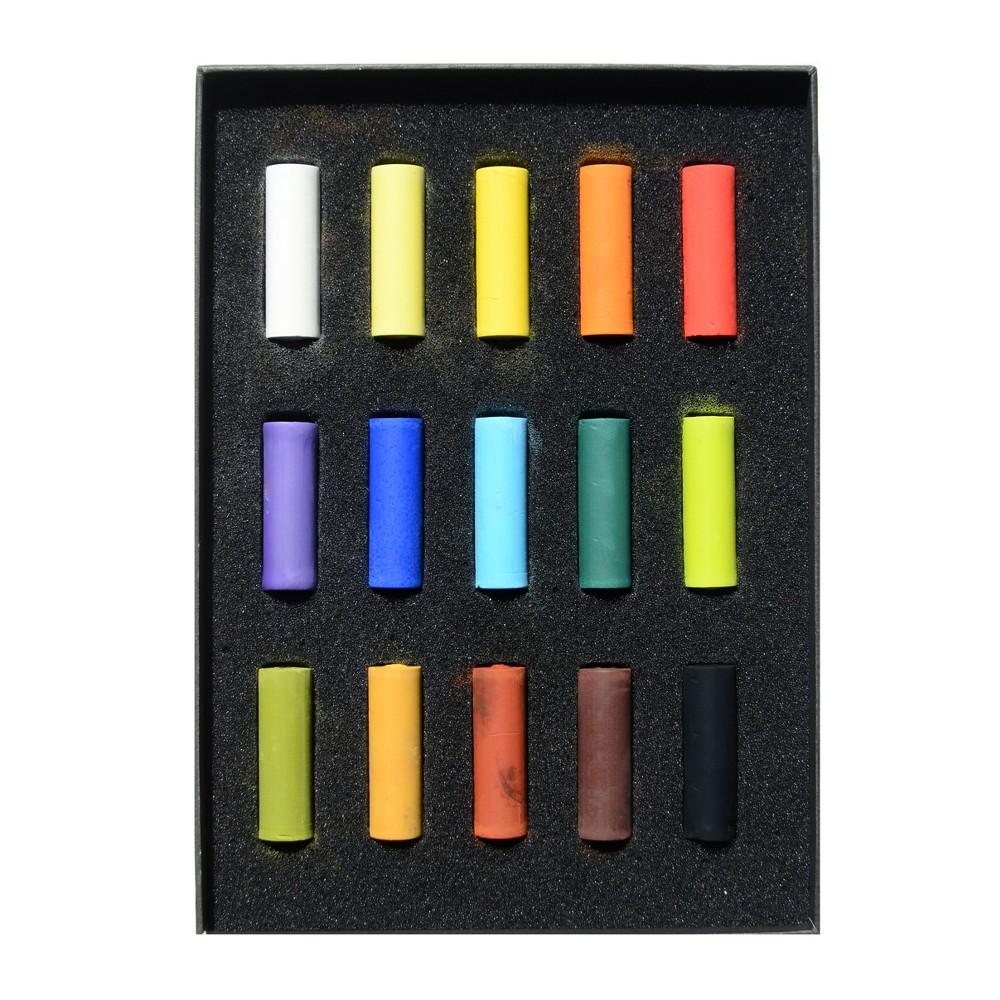 Image of Soft Pastels Half Size Multicolor - Rembrandt 15ct