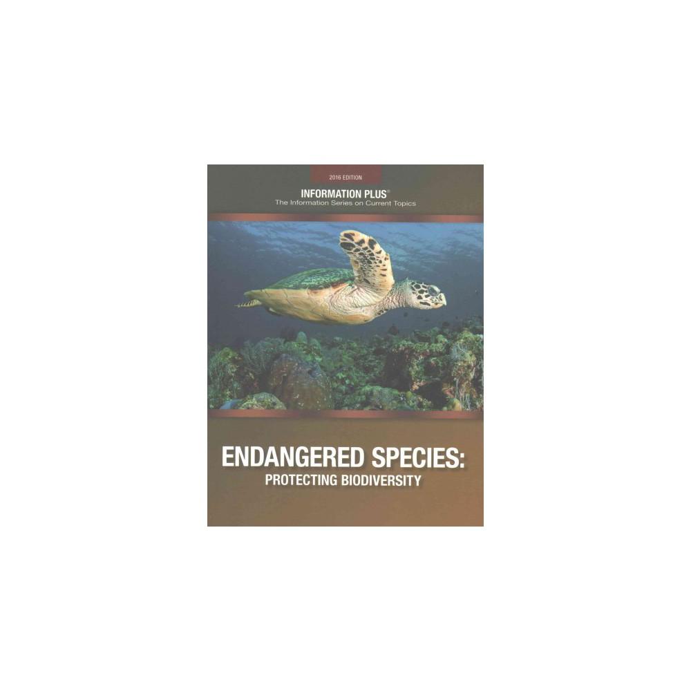 Endangered Species : Protecting Biodiversity (Paperback) (Kim Masters Evans)