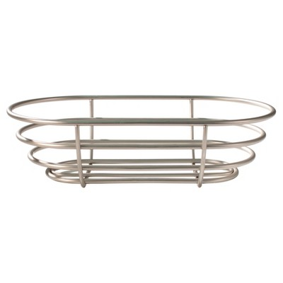 Spectrum Euro Steel Bread Basket - Satin Nickel