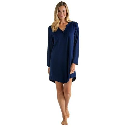 "Softies Women's 36"" Double Patch Pocket Raglan Sleep Shirt - image 1 of 4"
