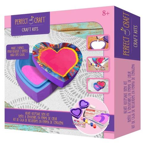 Perfect Craft Keepsake Box Kit Target