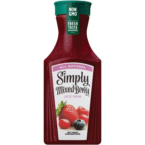 Simply Mixed Berry All Natural Juice Drink - 52 fl oz Bottle - image 1 of 1