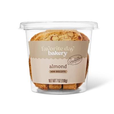 Almond Mini Biscotti - 7oz - Favorite Day™