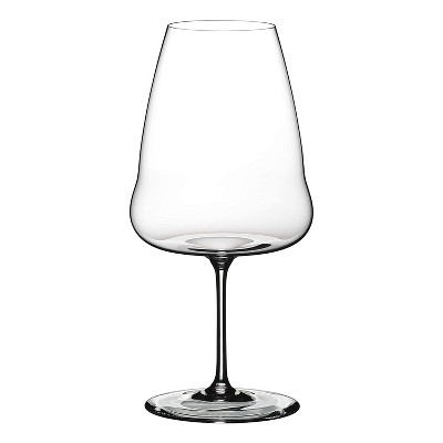 Riedel Winewings Riesling Tall and Long Thin Single Stem Crystal 35 Ounce Wine Glass for White Wine, Clear
