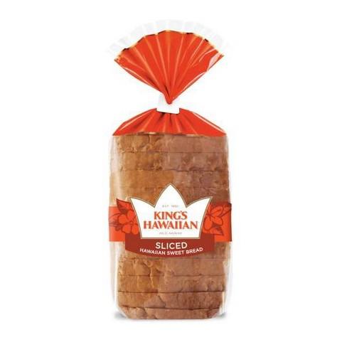King's Hawaiian Sweet Sliced Bread - 16oz - image 1 of 3