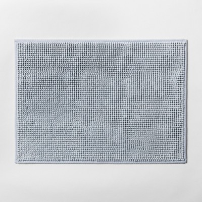 17 x24  Heathered Bath Rug Aqua - Made By Design™