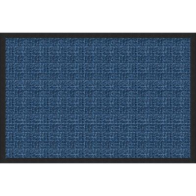 2'x3' Gate Keeper Doormat Blue - Apache Mills