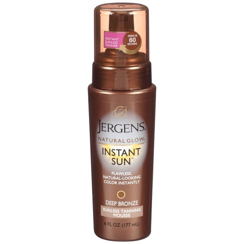 Jergens Natural Glow Instant Sun Moisturizing Lotion - Deep Bronze (6 oz) - image 1 of 3