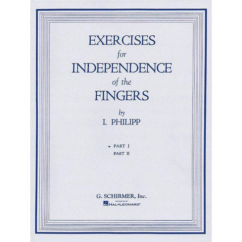 Isidor Phillip - Exercises for Independence of Fingers - Book 1 - (Paperback) - image 1 of 1