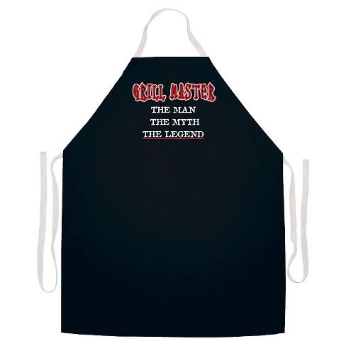 Grill Master Apron  Black - image 1 of 2