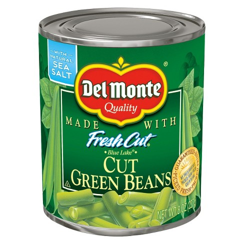 Del Monte Fresh Cut Green Beans - 8 oz - image 1 of 1