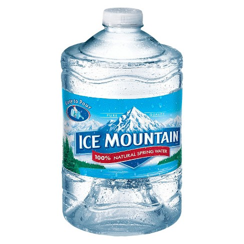 Ice Mountain Brand 100 Natural Spring Water 101 4 Fl Oz