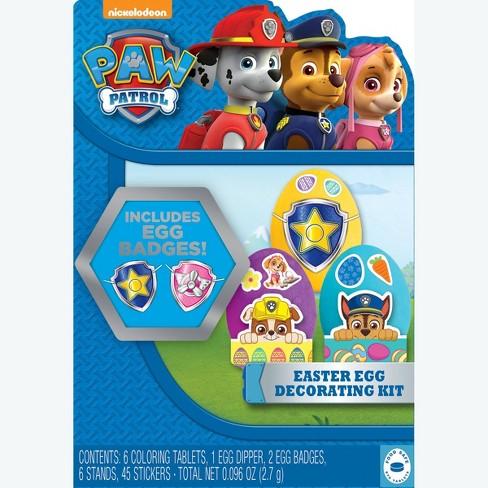 PAW Patrol Easter Egg Decorating Kit : Target