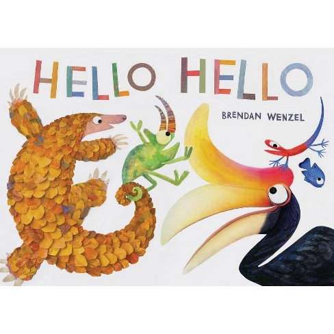 Hello Hello (Books for Preschool and Kindergarten, Poetry Books for Kids) - (Hardcover) - image 1 of 1