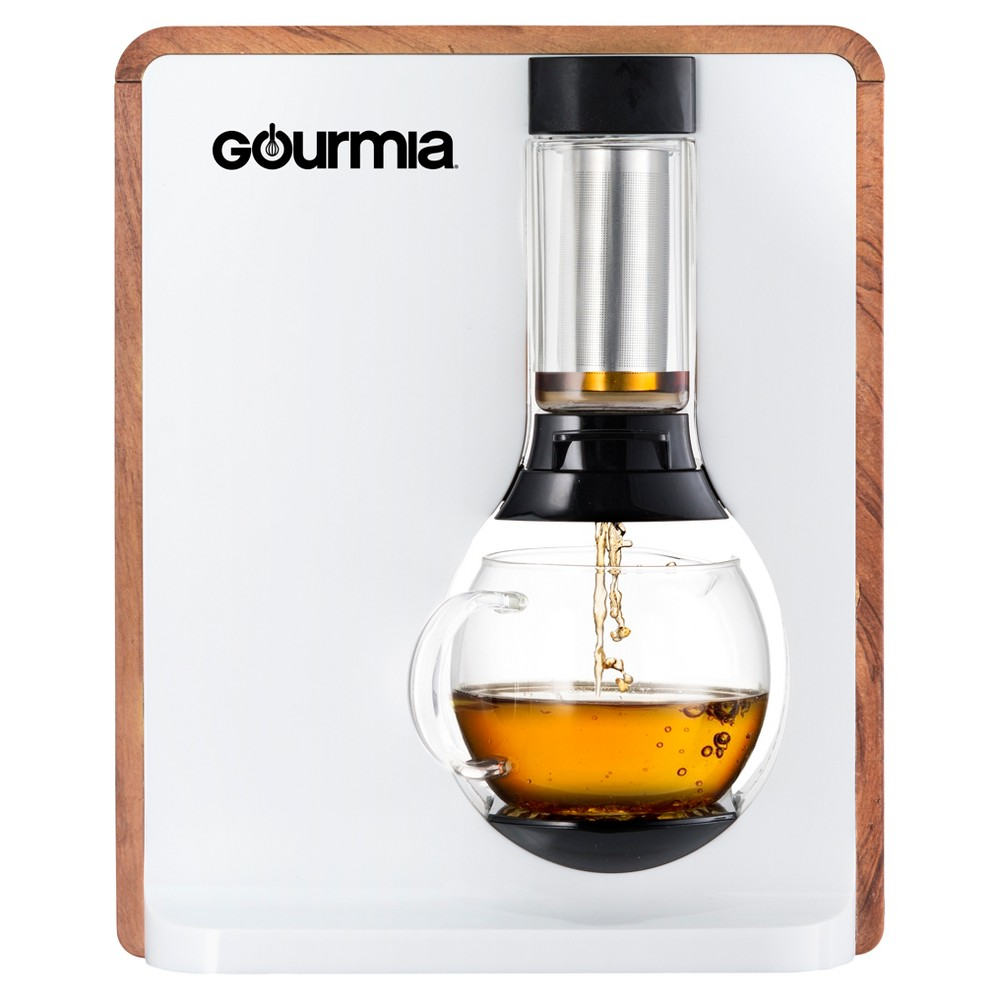 Gourmia Single Serve Coffee & Tea Maker, White 52591973