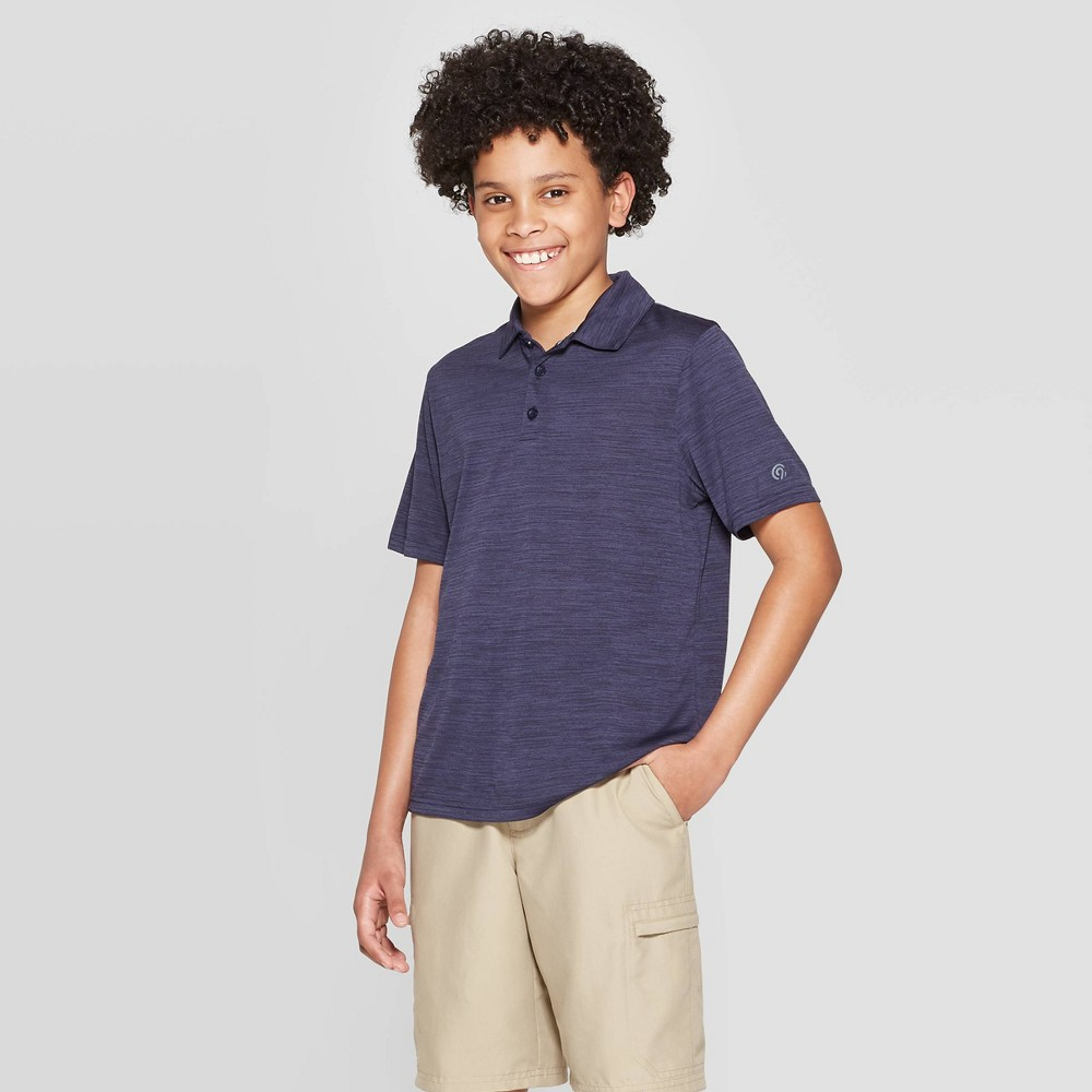 Boys' Golf Polo Shirt - C9 Champion Xavier Navy S