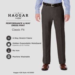 Haggar H26® 4 Way Stretch Classic Fit Trouser Pants