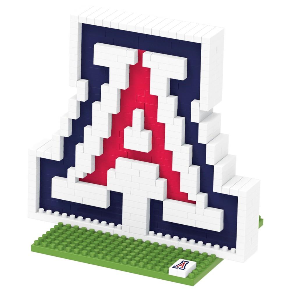 NCAA Arizona Wildcats 3D Logo Figure 500pcs