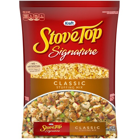 stove top signature classic stuffing mix 12oz target