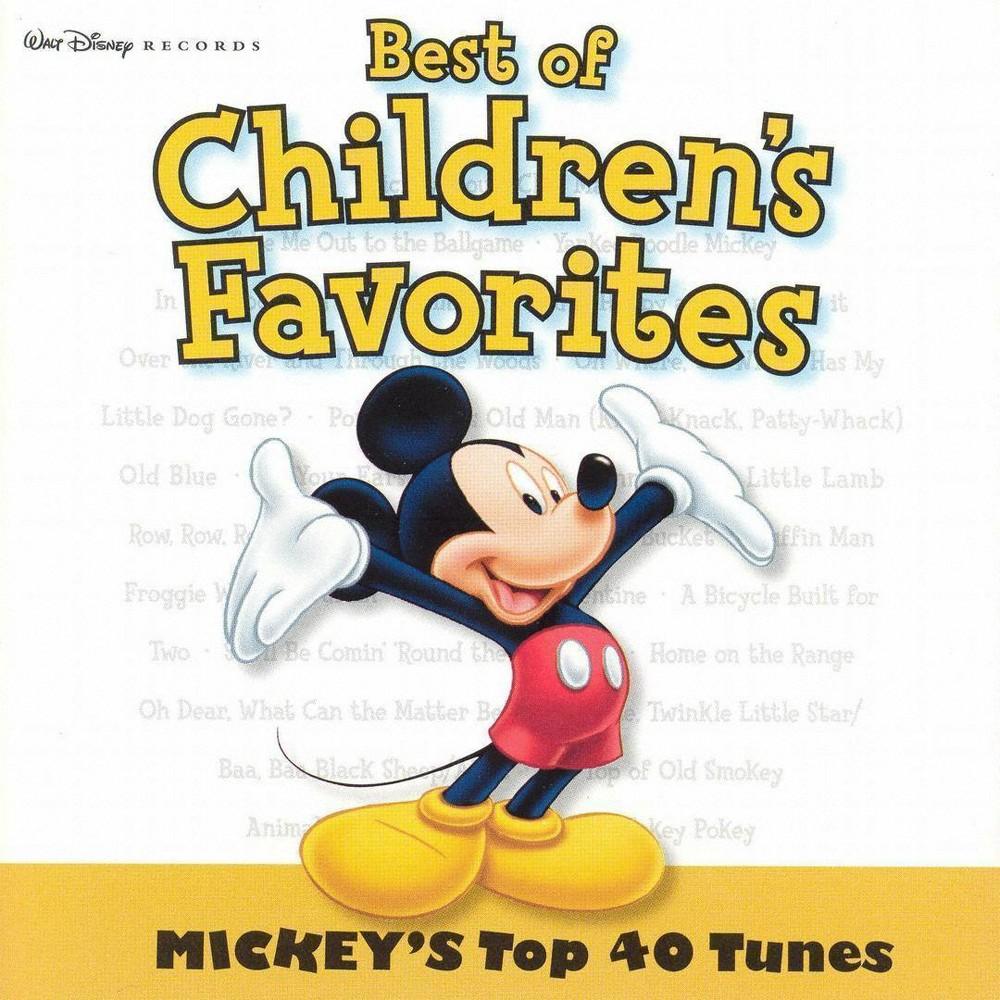 Disney Mickey S Top 40 Cd