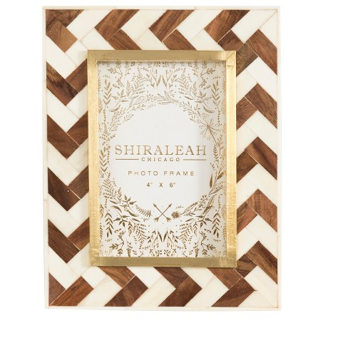 Mansour Chevron 4x6 Picture Frame Multicolored Shiraleah Target