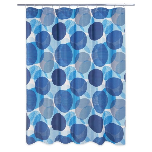 Textured Circle Shower Curtain - Allure Home Creations - image 1 of 4