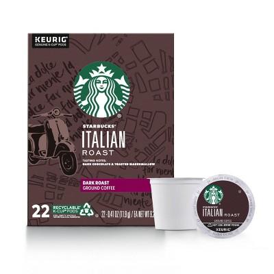 Starbucks Italian Dark Roast Coffee - Keurig K-Cups - 22ct