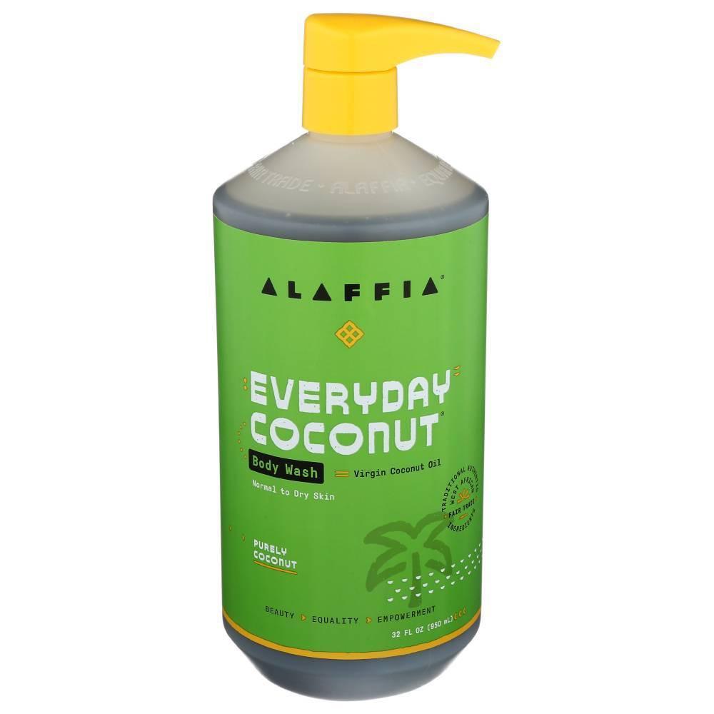 Image of Alaffia Coconut and Coffee Berry Body Wash - 32 fl oz