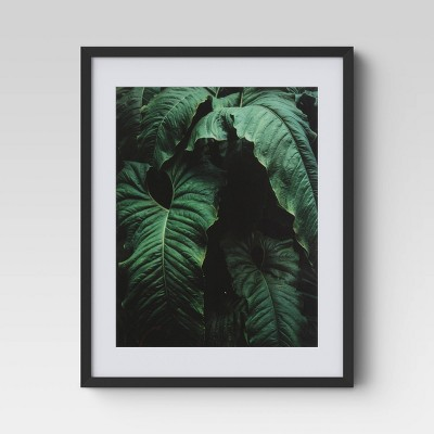 "16"" x 20"" Green Palm Framed Print - Project 62™"