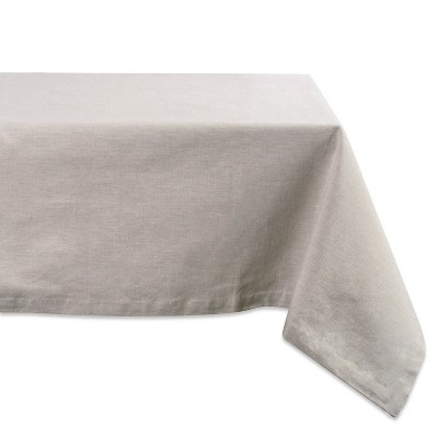 84 x60  French Chambray Tablecloth Natural - Design Imports