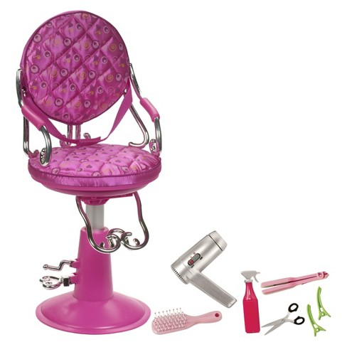 Our Generation® Sitting Pretty Salon Chair - Hot Pink - image 1 of 4