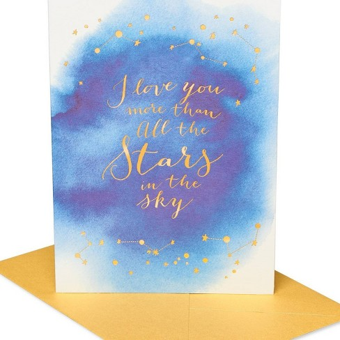 Elegant Star Quote Greeting Card - PAPYRUS - image 1 of 4