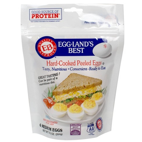 Eggland's Best Hard Cooked Eggs - 6ct - image 1 of 4