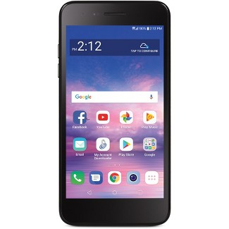 Simple Mobile Prepaid LG Rebel 4 LTE (16GB) - Black