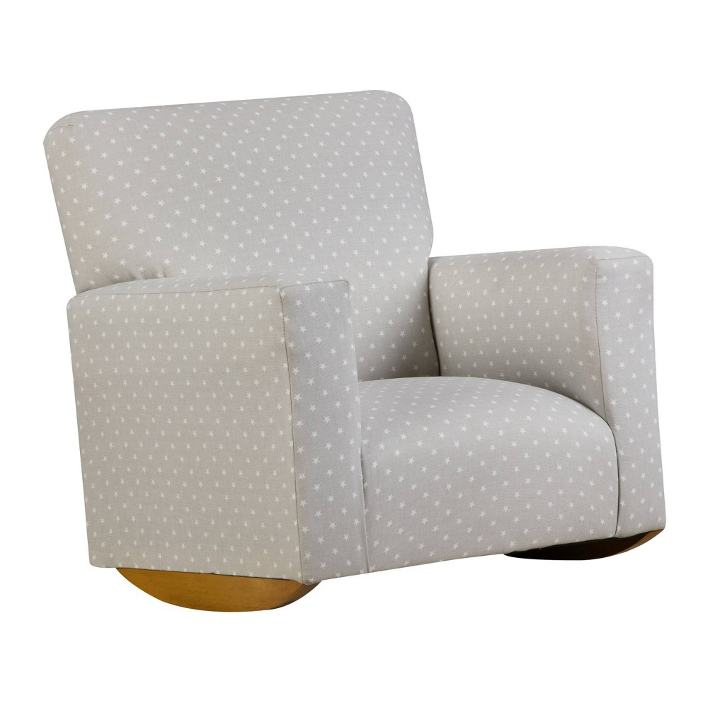 Image of Kids Upholstered Sallie Rocker Mini Star Gray - Chapter 3