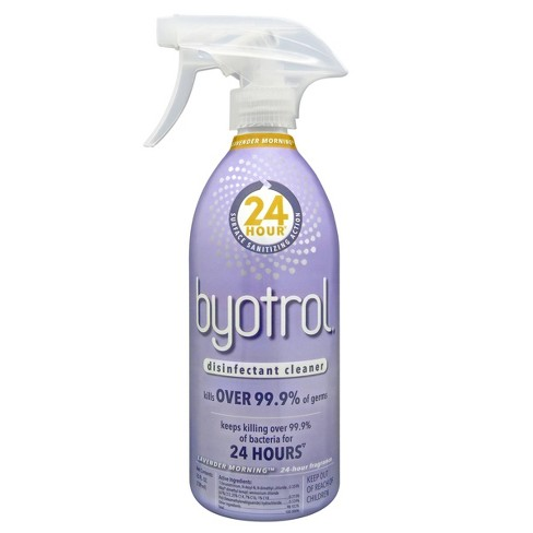 Byotrol Lavender Morning With 24-Hour Surface Sanitizing Action Disinfectant Cleaner - 25 fl oz - image 1 of 3