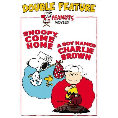 Snoopy, Come Home / A Boy Named Charlie Brown (DVD)(2015)