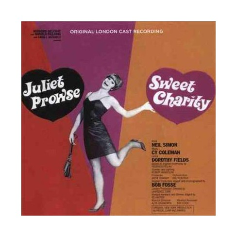 Juliet Prowse - Sweet Charity (Original London Cast Recording) (CD) - image 1 of 1