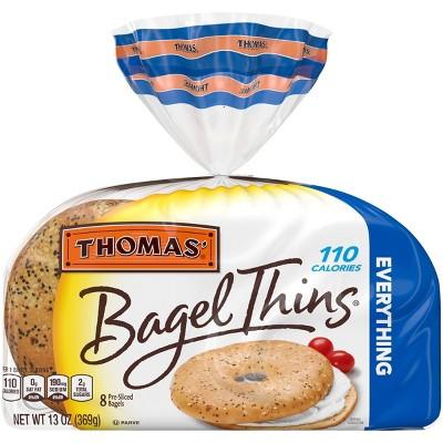 Thomas' Everything Bagel Thins - 13oz/8ct